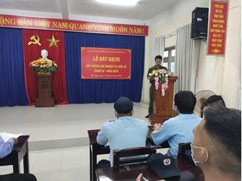 Lễ sát hạch cấp chứng chỉ NVBV Khóa III - 2020 tại Đà Nẵng