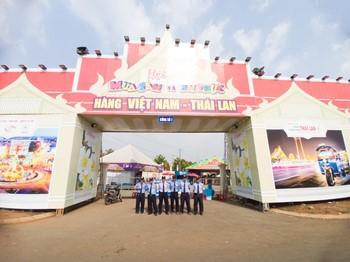 """Thiên Ưng Security đồng hành cùng """"Hội chợ mua sắm và ẩm thực hàng Việt Nam-Thái Lan năm 2021"""""""